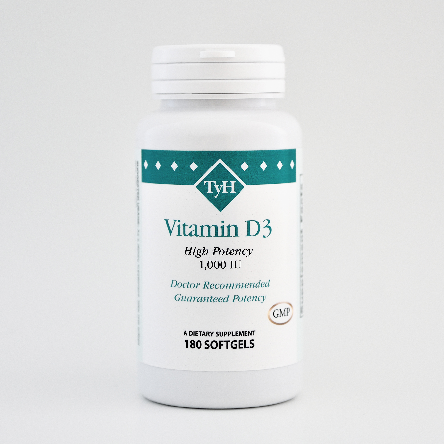 Vitamin D3 1000 IU 180 Softgels