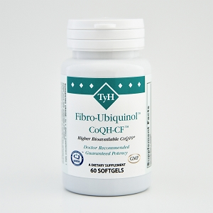 Fibro-Ubiquinol™ CoQH-CF™ with d-Limonene 60 Softgels