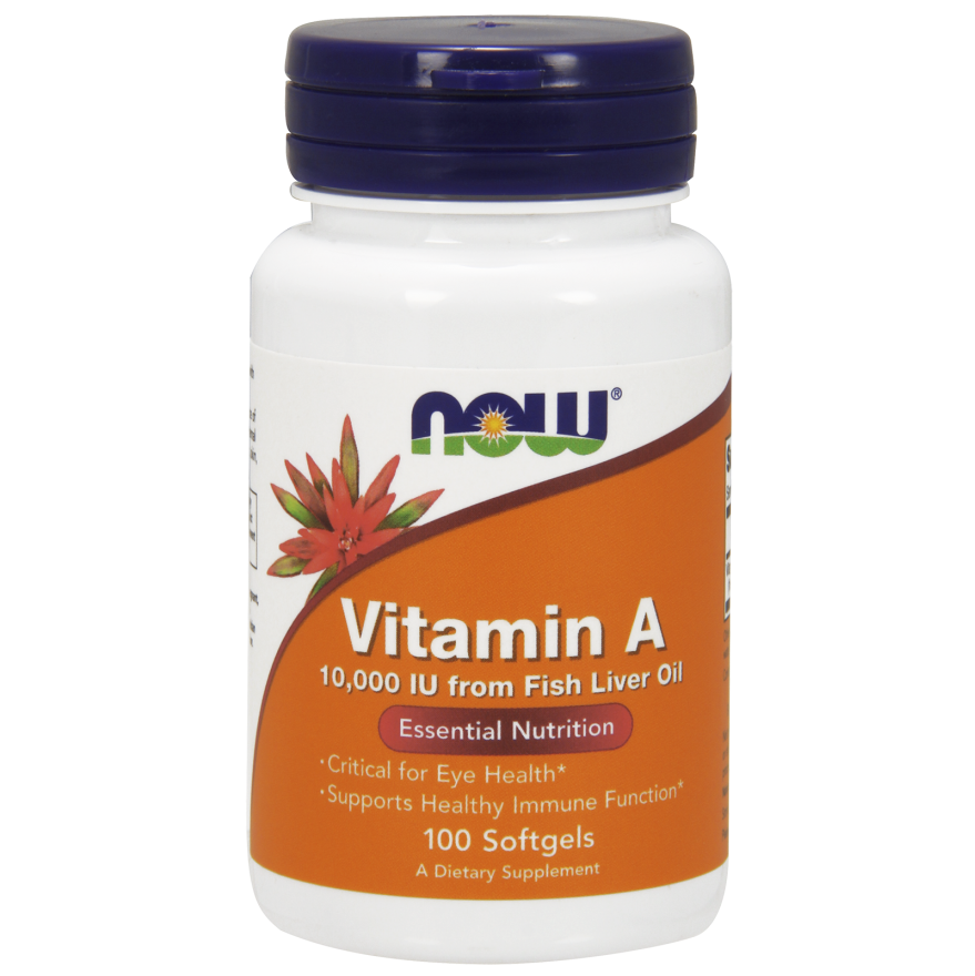 Vitamin a 10 000 iu fish oil 100 softgels for Multivitamin with fish oil