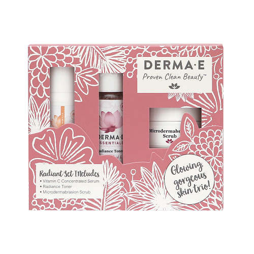 Naturally Radiant Skincare Set from DERMA E