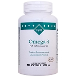 Omega-3 Fish Oil 1000 mg 100 Softgels