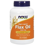Flax Oil High Lignan 1000 mg 120 Softgels