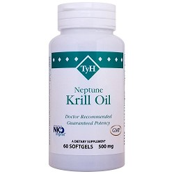 Krill Oil  500 mg 60 Softgels